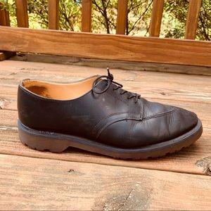Dr. Martens Black Leather Oxford Dress Shoes